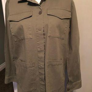Sanctuary/ scout green 4 pocket jacket